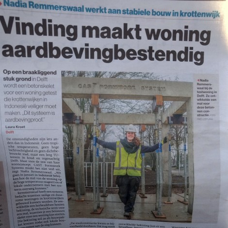 CAST in het AD – Haagse Courant!